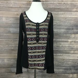 Free People We The Free Sweater Thermal Top